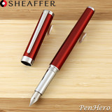 Sheaffer Intensity Engraved Translucent Red Fountain Pen Fine