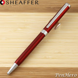 Sheaffer Intensity Engraved Translucent Red Ballpoint Pen