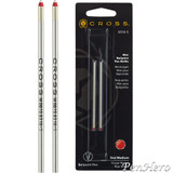 Cross Mini Ballpoint Refill Red Medium - Dual Pack