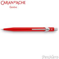 Caran d'Ache 844 Metal Red 0.7mm Mechanical Pencil 844.070