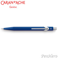 Caran d'Ache 844 Metal Sapphire Blue 0.7mm Mechanical Pencil 844.150