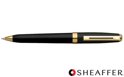 Sheaffer Prelude Black Matte G/T Ballpoint Pen
