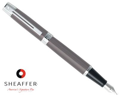 Sheaffer 300 Metallic Grey C/T Fountain Pen
