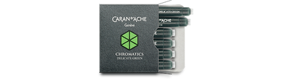 Caran d'Ache Delicate Green Ink Cartridges