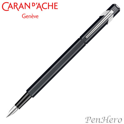 Caran d'Ache 849 Metal Black Fountain Pen