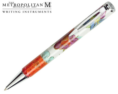 The Metropolitan Museum of Art Meissen Floral Ballpoint Pen