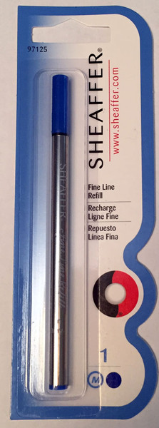 Sheaffer Fine Liner Rollerball Refills - Blue Medium