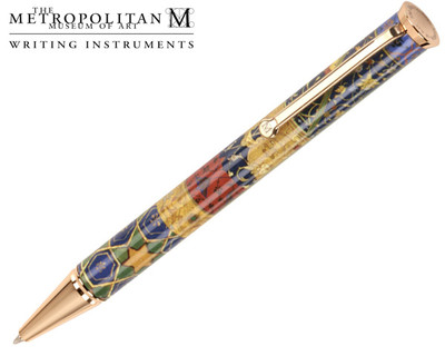 The Metropolitan Museum of Art Persian Patchwork Ballpoint Pen