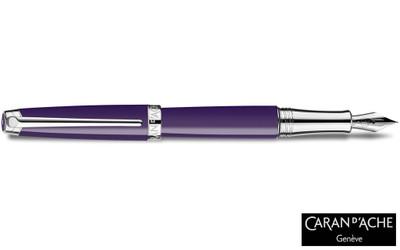 Caran d'Ache Leman Lilac Fountain Pen Fine