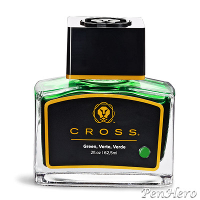 Cross Fountain Pen Ink Green (single bottle)
