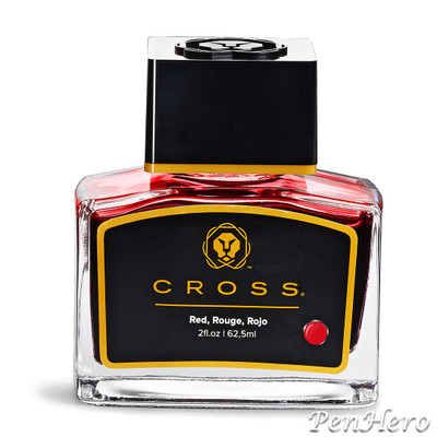 Cross Fountain Pen Ink Red (single bottle)