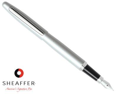 Sheaffer VFM Strobe Silver Fountain Pen