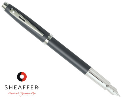 Sheaffer 100 Matte Grey Fountain Pen