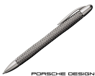 Porsche Design P3100 TecFlex Steel Ballpoint Pen
