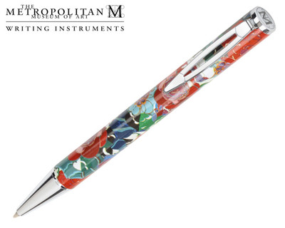 The Metropolitan Museum of Art Deco Floral Ballpoint Pen