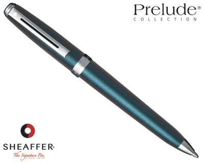 Sheaffer Prelude Chameleon Electric Blue N/T Ballpoint Pen