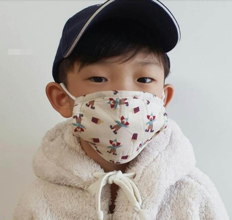 Mask - Anti Bacterial Thread Mask Kids