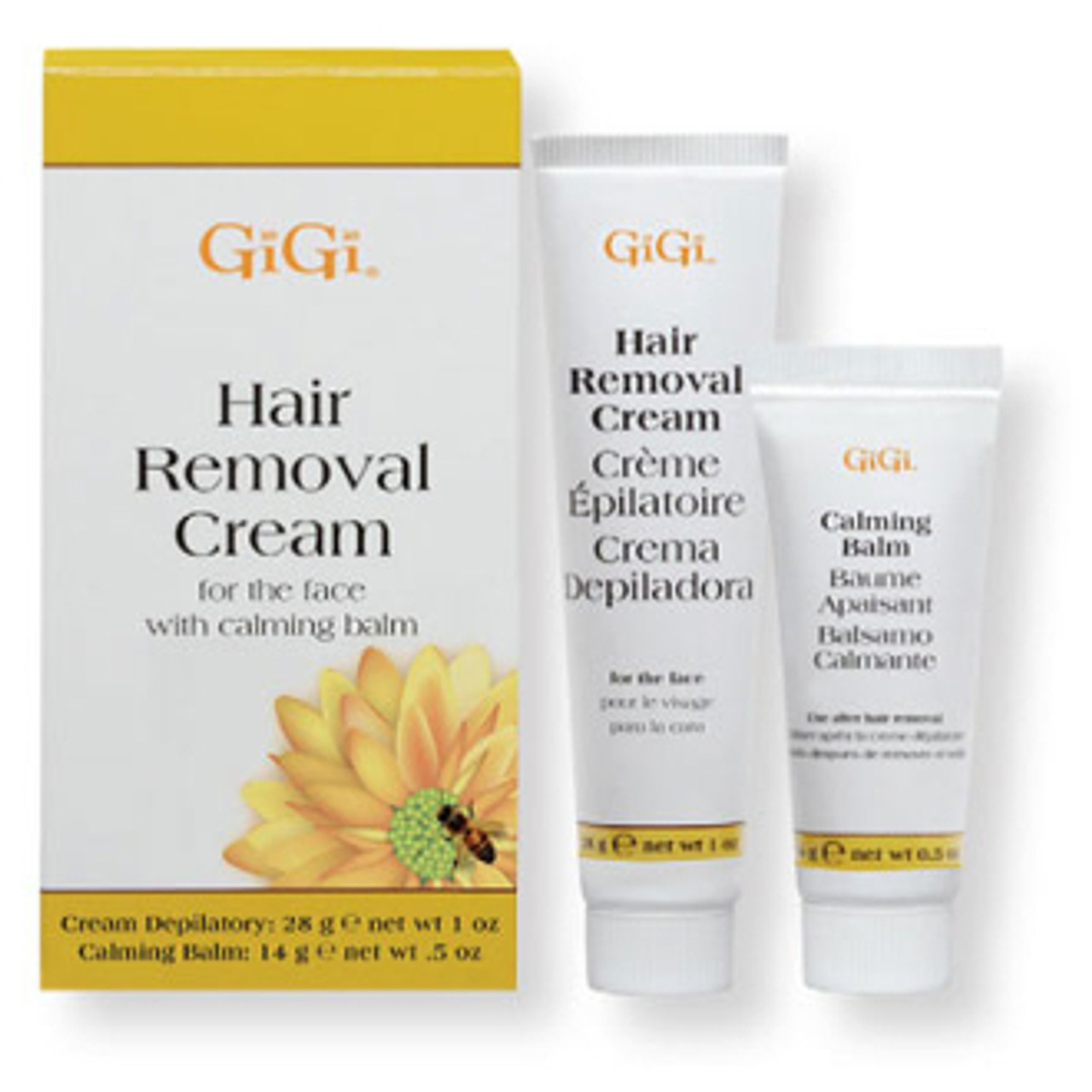 Gigi Hair Removal Cream For Legs Bikini 0445 Barber Salon