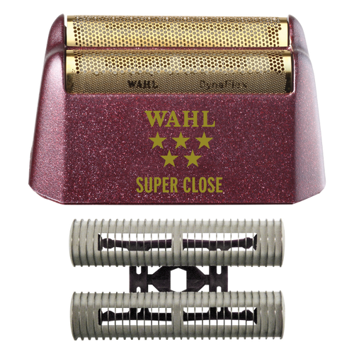 Wahl 5 Star Shaver Replacement Foil Head and Cutter Bar Assembly - Gold