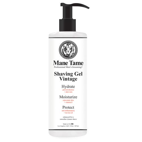 Mane Tame Vintage Shaving Gel 15.8 oz
