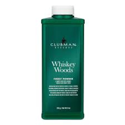Clubman Pinaud Reserve Whiskey Woods Powder 9 oz