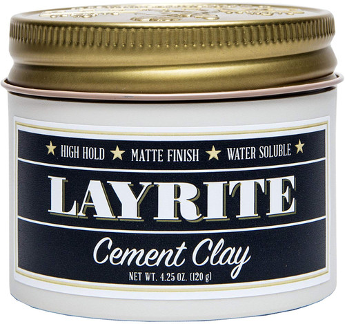 Layrite  Cement Hair Clay 4 oz