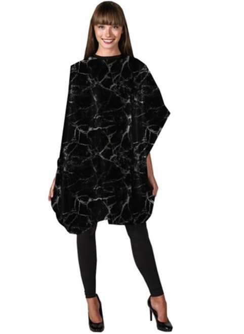 Betty Dain Black Marble Shampoo Cape 391