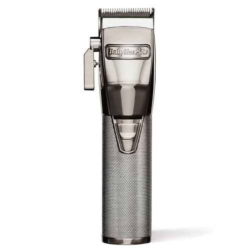 BaByliss Pro Silver FX Metal Lithium Clipper FX870S