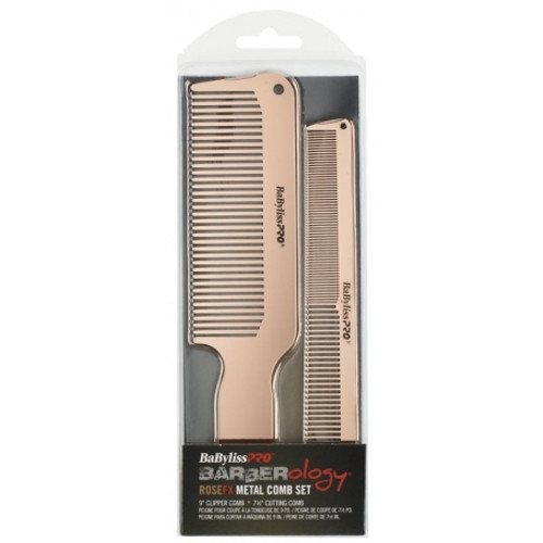 BaByliss Pro Barberology Rose FX Metal Combs