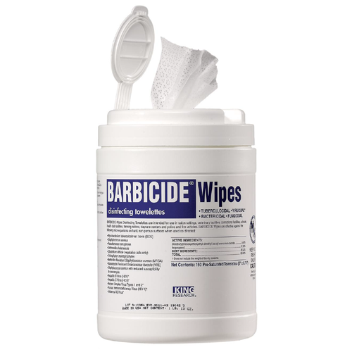 Barbicide Disinfectant Wipes