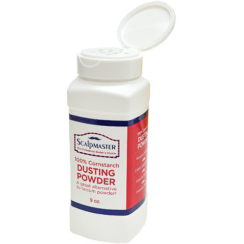 Scalpmaster 100% Cornstarch Dusting Powder 9 oz.