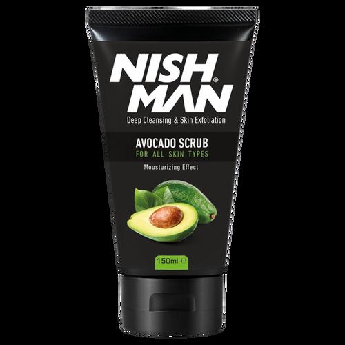 Nishman Face Scrub Avocado 16oz