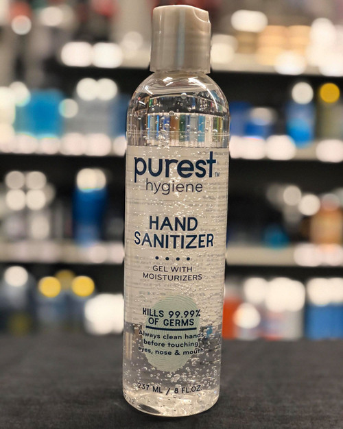 Purest Hygiene Hand Sanitizer 8 oz
