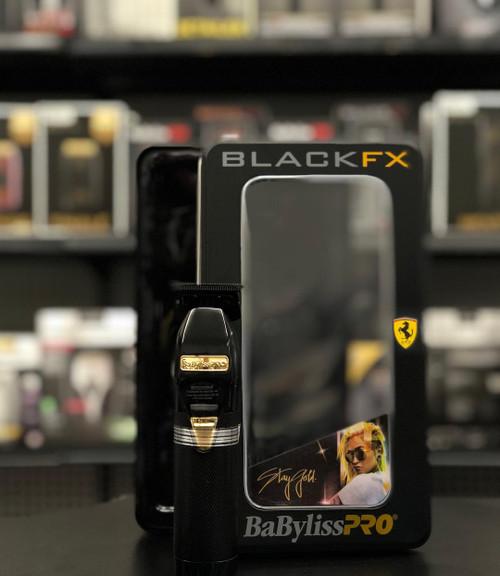 "BaByliss Pro Black FX ""Stay Gold"" Skeleton Trimmer FX787B"