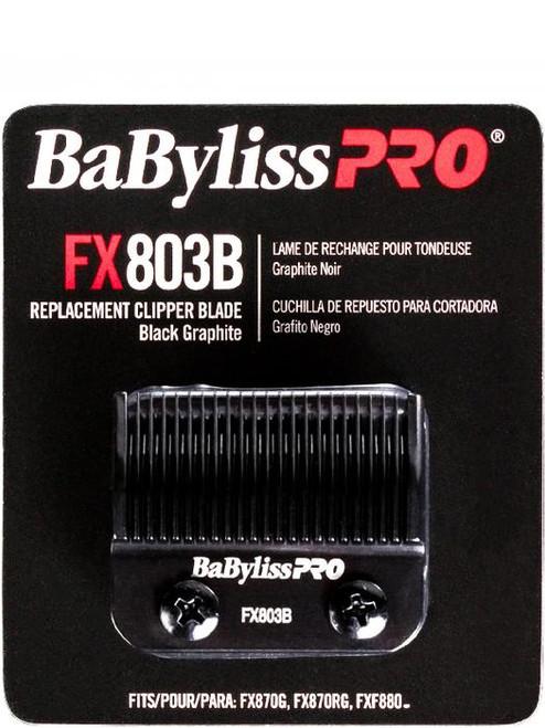 BaBylissPro Replacement Clipper Blade Black Graphite  FX803B