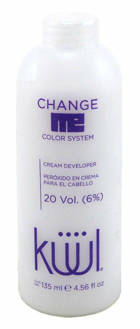 Kuul 20 Volume Cream Developer 4.56 Ounce (135ml)