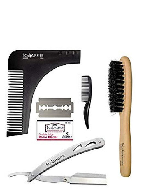 Scalpmaster 4pc Grooming Kit SC-9050