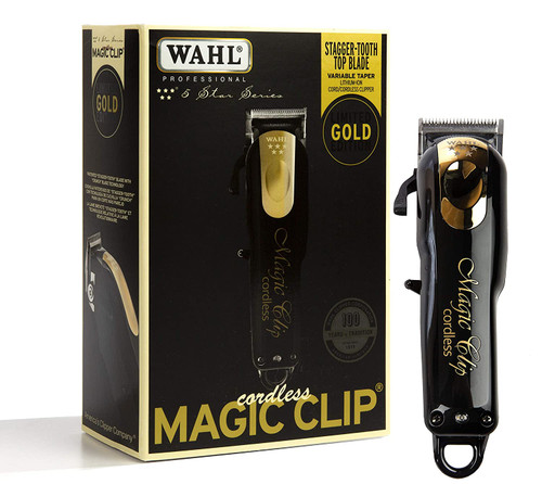 Wahl Professional 5-Star Limited Edition Black & Gold Cordless Magic