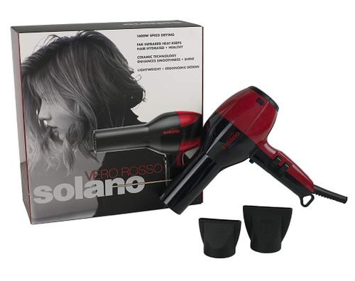 Solano Vero Dryer Red/Black