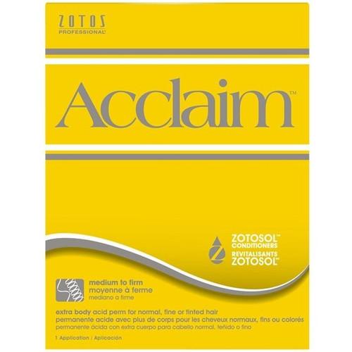 Zotos Acclaim Extra Body Acid Perm 12pk