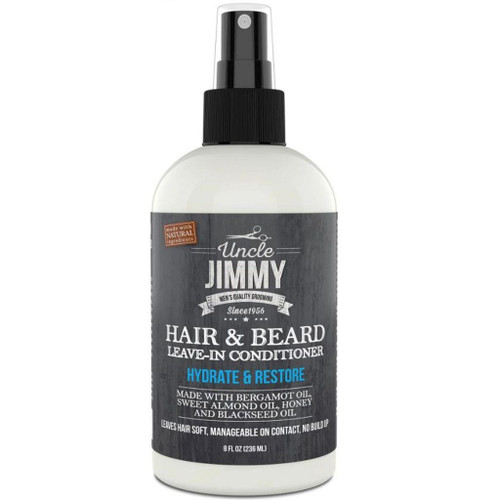 Uncle Jimmy Hair & Beard Leave In Conditioner 8 oz