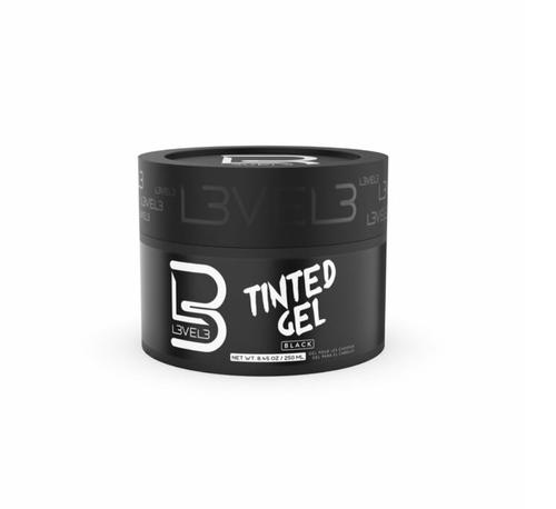 L3VEL3 Tinted Hair Gel - Black Color 8.45oz