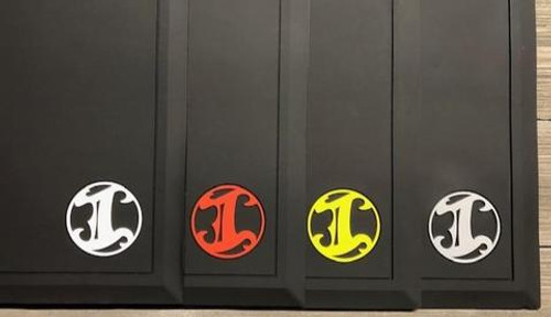 IBC Tapered Black Mat w/ Colored Logos