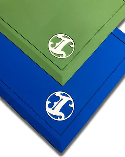 IBC Solid Color Station Mat w/ White Logo
