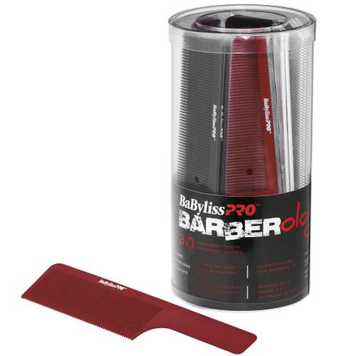 "BaByliss Pro Barberology Clipper Comb 9"" 30 Pack Bucket"