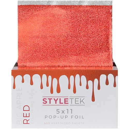 Styletek Coloring Foil Big Apple Red 5x11 500CT