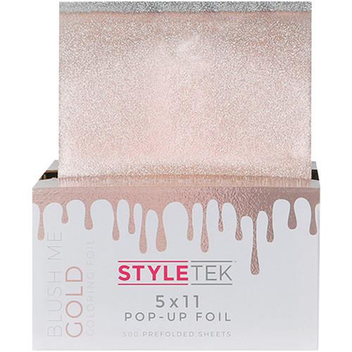 Styletek Coloring Foil Blush Me Gold  5x11 500CT