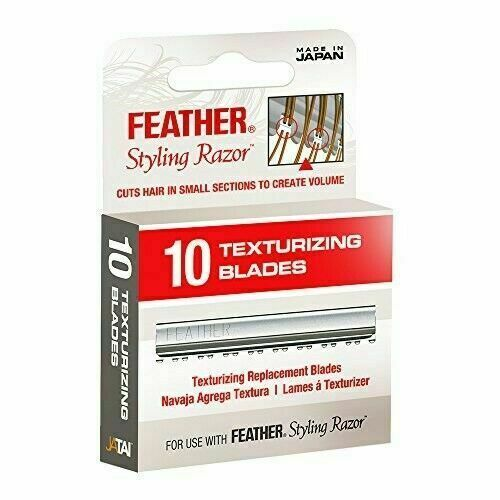 Feather Styling Razor Texturizing Blades