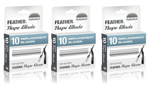 Feather Nape Blades 30 count (3 x 10pk)