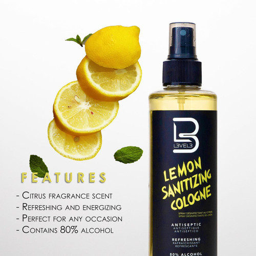 L3VEL3 Lemon Sanitizing Cologne